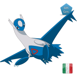 Latios and Megastone