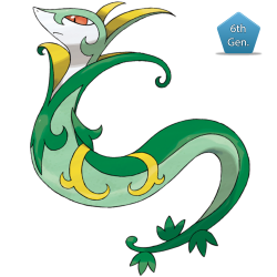 Serperior Winter Present 2015