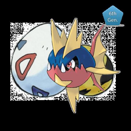 Carvanha - Pokémon Center Mega Tokyo Egg