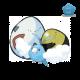 Swablu - Pokémon Center Mega Tokyo Egg