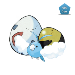 Swablu (Pokémon Center Mega Tokyo Egg)