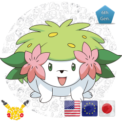 Shaymin 20th Anniversary