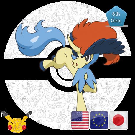 innovative design 5d1e9 42083 Keldeo 20th Anniversary - PokemonGet - Ottieni tutti i Pokemon più Rari in  Sole Luna - Rubino e Zaffiro - X e Y