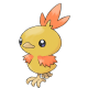 Torchic 6IV (Shiny)