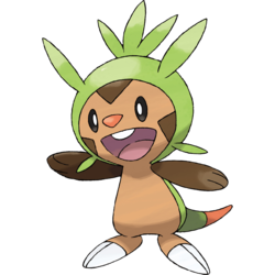 Chespin 6 IVs (Shiny)