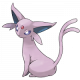 Espeon (Birthday Event Pokemon)