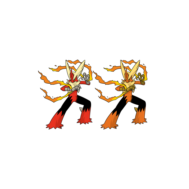 Pokemon Shiny Blaziken Images | Pokemon Images