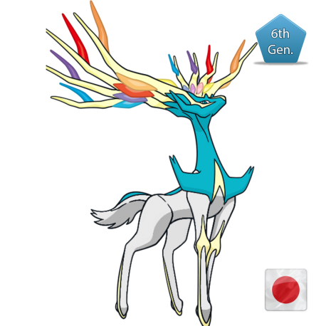 Xerneas (Shiny) XYZ