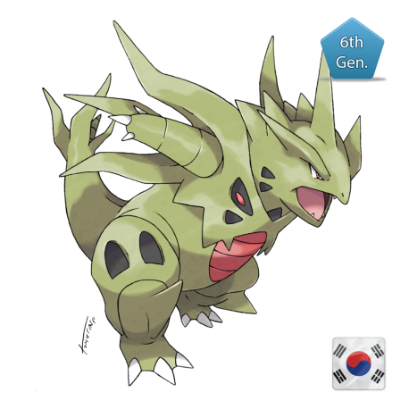 Tyranitar Korean World Championship 2014