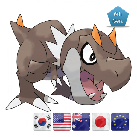 Tyrunt Pokemon Global Link 2015