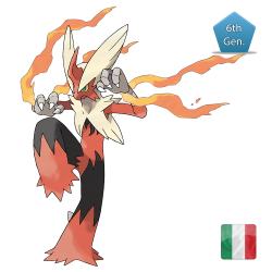 Blaziken (Shiny) 6 IVs Competitive