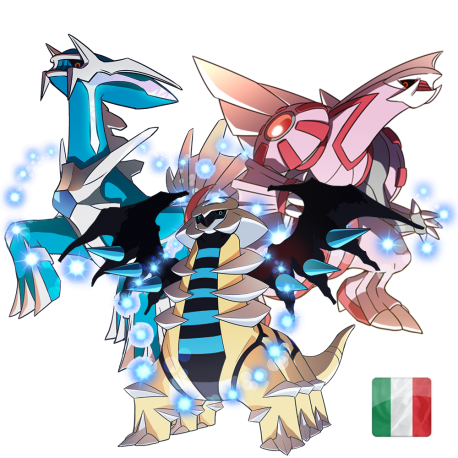 Legendary Creation Trio (Palkia, Dialga, Giratina)