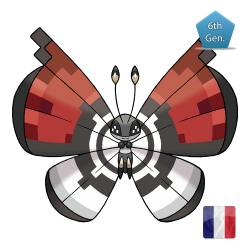 Vivillon Motivo Pokeball