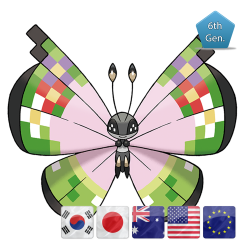 Vivillon Fancy Pattern