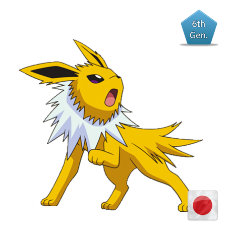 Jolteon (Birthday Event Pokemon)