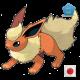 Flareon (Birthday Event Pokemon)