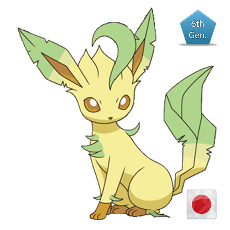 Leafeon (Birthday Event Pokemon)