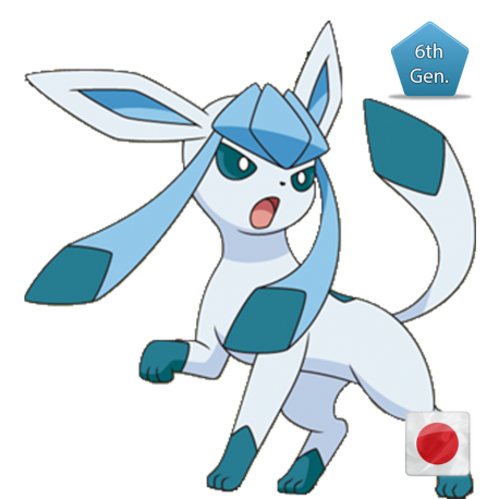 Glaceon (Birthday Event Pokemon)