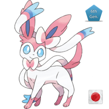 Sylveon (Birthday Event Pokemon)