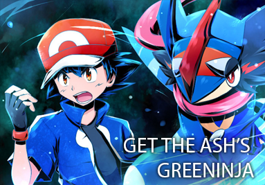 Get the Ash's Greninja!