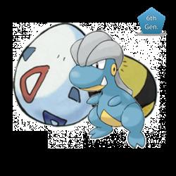 Bagon (Pokémon Center Mega Tokyo Egg)