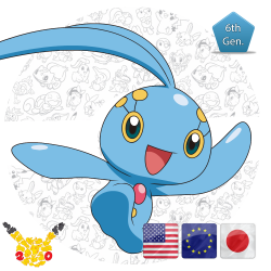 Manaphy 20th Anniversary