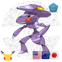 Genesect 20th Anniversary