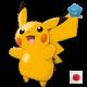 Shiny Pikachu (Pokemon Center Mega Tokyo)