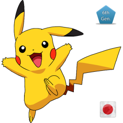 Pikachu (Birthday Event Pokemon)