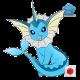 Vaporeon (Birthday Event Pokemon)