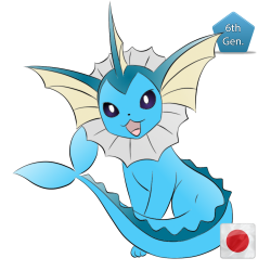 Vaporeon (Birthday Event Pokemon)