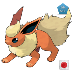Flareon (Birthday Event Pokemon)