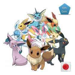 All Eevees (Birthday Event Pokemon)