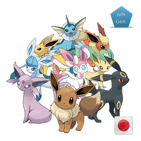 All Eevees (Birthday Event Pokemon)